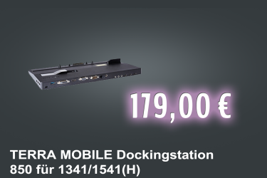 TERRA MOBILE 1541/1341 (H) Dockingstation