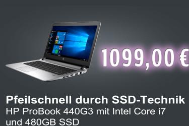 HP ProBook 440 G3 480GB